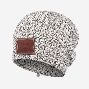 NWT Love Your Melon Black Speckled Beanie